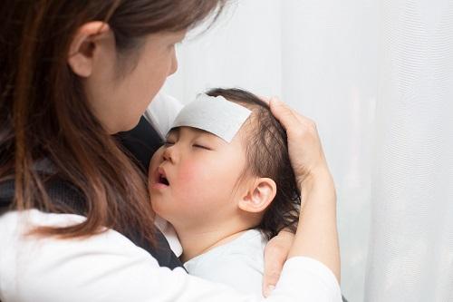 赤ちゃんがインフルエンザ