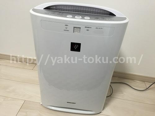 プラズマクラスター機能付き空気清浄器